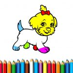 BTS Doggy Coloring Book