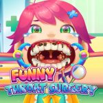 Jeu Funny Throat Surgery