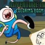 Jeu Adventure Time Coloring Book