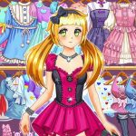 Jeu Anime Kawaii Dress Up Game