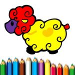 Jeu Baby Sheep Coloring Book