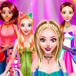 Jeu Brilliant Popstar Girls Dress Up