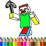 Jeu BTS Minecraft Coloring
