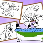 Cartoon Coloring for Kids – Animals