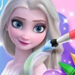 Coloring Book For Elsa