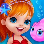 Jeu Cute Mermaid Dress Up Game