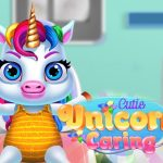 Jeu Cutie Unicorn Care