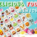 Jeu Delicious Food Mahjong Connects