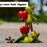Jeu Frog's Love Pair Jigsaw