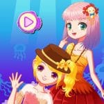 Mermaid Princess Dress Up Salon