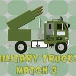 Jeu Military Trucks Match 3