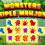 Jeu Monsters Triple Mahjong