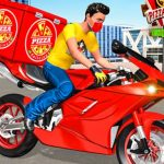 Jeu Moto Pizza Delivery