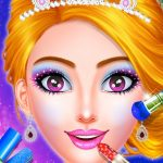 Princess Dress up & Makeover – Color by Number