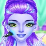 Princess Fashion Girl Dress Up & Makeup Salon