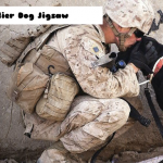 Jeu Soldier Dog Jigsaw