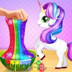 Jeu Unicorn Slime Maker